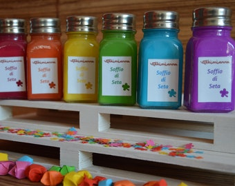 Fragrant talcum powder, scented talc for the body, natural clay, starch, perfume, personal hygiene