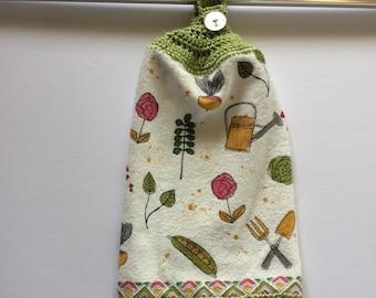 GARDENING 101 Kitchen Hanging Towel