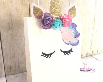 Unicorn Goodie Bags, Unicorn Favor Bags, Unicorn Party, Party Favors