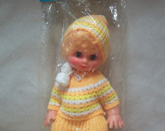 "Vintage Packaged ""Randy"" Blonde Baby Doll"