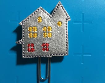 Haunted House Planner Clip