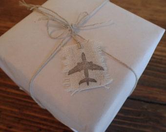 Mini Plane Gift Tag (1ct)