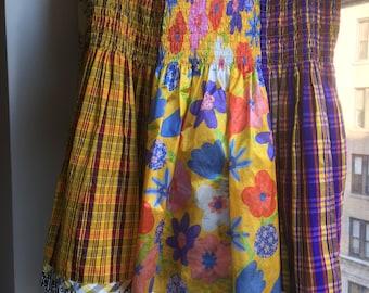 Fabulous Vintage Koos Van Den Akker Skirt -- Dress Up or Down!