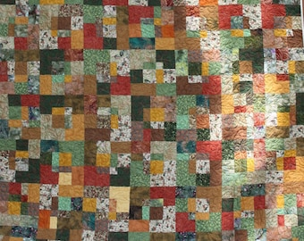 King Patchwork Quilt