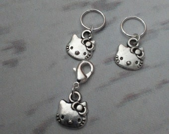 Hello Kitty Stitch Marker Set