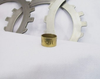 50 Caliber shell casing brass ring