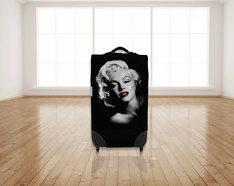 Marilyn Monroe Design Caseskinz Suitcase Cover Easily Identify Your Case On The Carousel