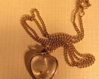Vintage Mustard Seed Necklace. Faith The Size Of A Mustard Seed.