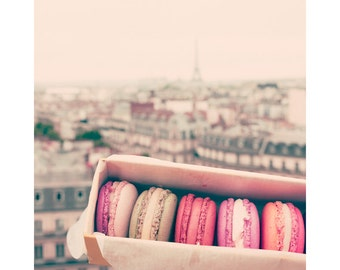 Wall art canvas, Paris wall art, canvas art, Paris photography, canvas wall art, Paris print, Paris decor, macaron, macarons  large wall art