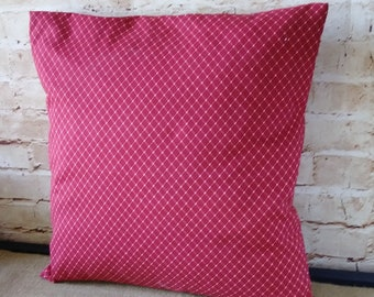 Red Christmas Pillow - Red Pillow Cover - Red Throw Pillow - Red Pillow - Red Throw Pillow Cover -  Red Pillow - Throw Pillow Covers