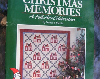 Christmas Folk Art Quilting Book