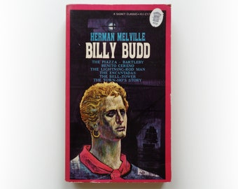 Herman Melville - Billy Budd and Other Tales - Signet vintage paperback book - 1961