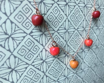 The apples of fall bracelet