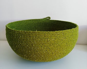 Extra Large Green Bowl
