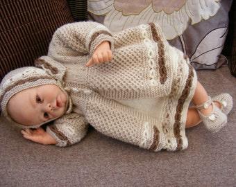Fudgecake Dress Set Knitting Pattern