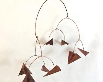 8 piece copper glider mobile