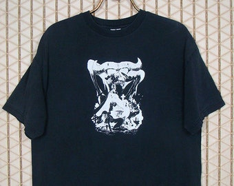Samhain shirt, vintage t-shirt, faded black tee, Misfits, Danzig, rare
