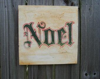 Noel sign, Christmas decor, Christmas sign, Christmas gift, rustic Christmas sign, rustic holiday sign, country Christmas sign, shabby decor