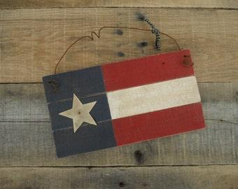 SALE, Wood, Flag, American, USA, American Flag, Primitive, Flags, WoodWooden, Folk Art, Pallet, Pallet Flag, Rustic, Sign, Signs