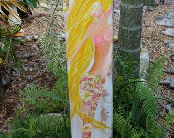 Mermaid In Spring