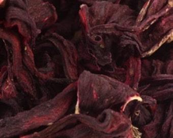 Hibiscus Herbal Tea  **Caffeine Free** - Certified Organic