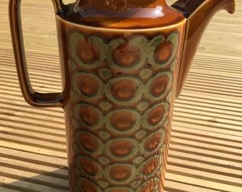 Hornsea 'Bronte' Vintage Amber Coffee Pot (1974)