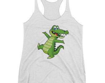 Baby Crocodile Ladies Tank Top