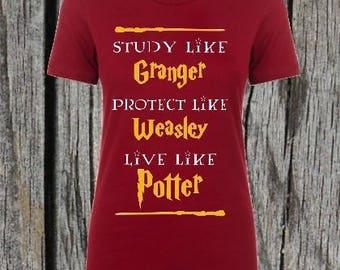 Harry Potter Study Like shirt