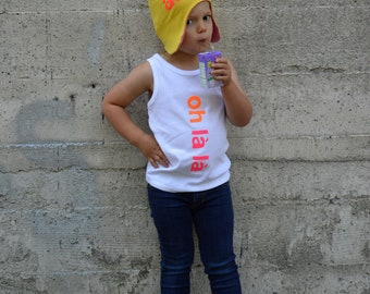 Oh La La T-shirt,  Baby/Toddler Shirt- 100% organic cotton T-shirt, long sleeve t-shirt, tank top