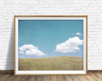 "landscape photography, large colorful landscape art, instant download printable art, downloadable art, art prints, modern prints -""Hovering"""
