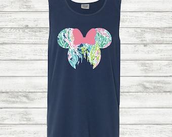 Comfort Colors Minnie Mouse Tank Top | Comfort Colors | Minnie Mouse Tank Top | Disney Tank Top | Disney Castle | Minnie Mouse Shirt