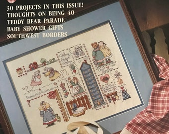 For the Love of Cross Stitch magazine July 1990