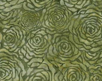Hoffman Fabrics Bali Batiks 2962 319 Snake Roses By The Yard