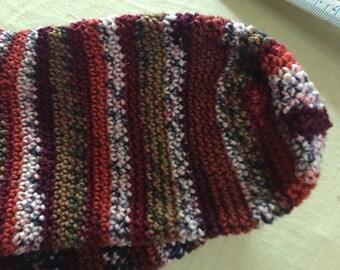 Hand crocheted socks