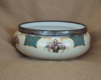 CLEARANCE Altrohlau Porcelain; Czechoslovakia Bowl; Antique Serving Dish