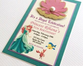 Under the Sea Invitations Mermaid Invitations Ocean of