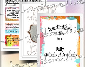 Daily Gratitude Journal Kit by Jennibellie