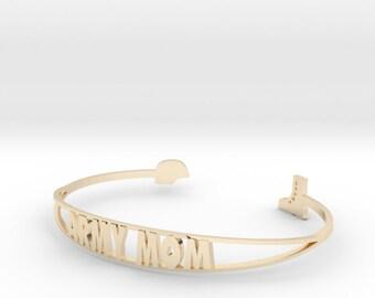 Bracelet - Army Mom - Customizable
