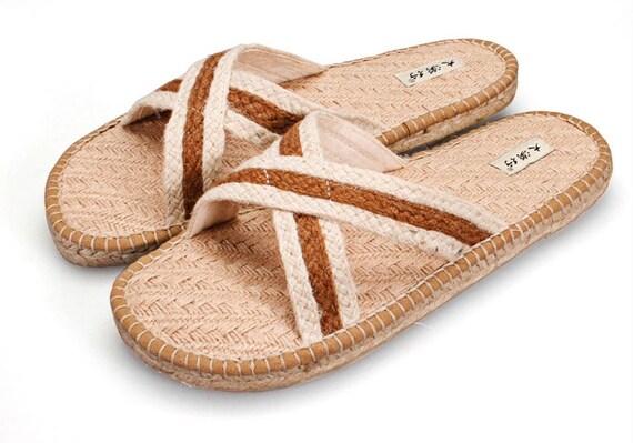 canapa sandali JAMAICA Style Uomo Sandali Estivi