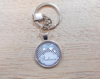 1 key ring key chain 1 message