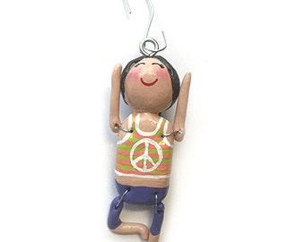 Namaste Collection:  Rosalyn (Ornament) - Tree Pose