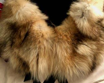Alaskan Wolf Fur Stole