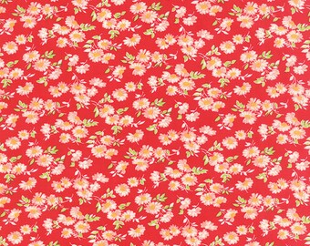 Little Ruby Red #55137-11 yardage by Bonnie and Camille for Moda Fabrics 100% Cotton