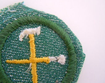 Girl Scout Handy Woman Badge 1938 to 1947