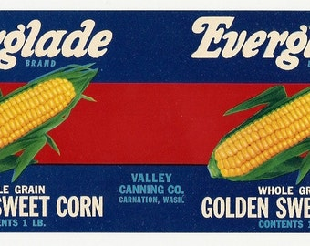 10 Old Vintage CORN / TOMATO LABELS