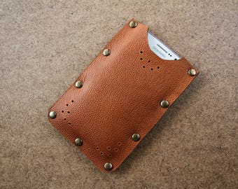 Leather Phone Wallet, Mobile Phone Case, Phone Holder, Pouch, Mobile Holder, Gift