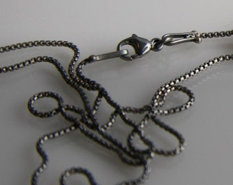 Sterling Silver Rounded Box Chain 1.1mm