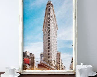 Flatiron Building - New York City Building - NYC Flatiron Photography Print - art photo