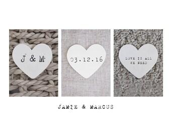 Wedding Date Art Print, Personalized Wedding Gift, Wedding Date Print, Unique Wedding Gift, Wedding Present, Wedding Date Sign, Photo Gift