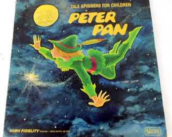 70s Talespinners Peter Pan Vinyl LP Record UAC 11053